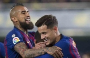 Philippe Coutinho: Arturo Vidal ma DNA Barçy, jest wojownikiem