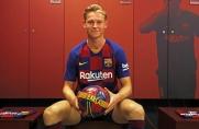 Przedstawiciele holenderskiego futboluocenili cechy charakterystyczneFrenkiego de Jonga
