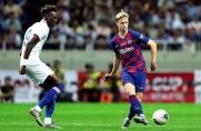 Frenkie de Jong: Bardzo cieszę się, że rozegrałem swoje pierwsze minuty w Barcelonie