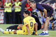 Barcelona potwierdza kontuzję Luisa Suáreza