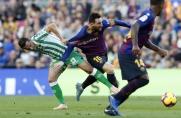 Real Betis ostatnią drużyną, która zdołała pokonać Barcelonę na Camp Nou