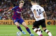 Frenkie de Jong: To był najlepszy mecz, jaki do tej pory rozegrałem w barwach Barcelony