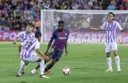 Kontuzja Samuela Umtitiego stwarza problemy w defensywie Barcelony