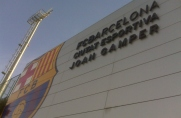 Trening regeneracyjny z myślą o wtorkowym meczu z Villarrealem