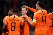 Holandia lepsza od Białorusi, 90 minut Frenkiego de Jonga