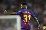 Ansu Fati: Możliwość gry w reprezentacji Hiszpanii napawa mnie dumą
