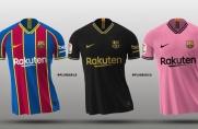 Portal Footy Headlines obublikował wygląd trzech kompletów strojów Barcelony na sezon 2020/21