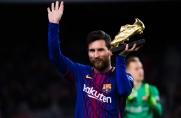 Leo Messi odebrał dziś szósty Złoty But w swojej karierze