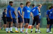 Piłkarze Barcelony trenowali dziś na obiektach Deportivo Alavés