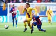 Pierwszy gol Griezmanna w wyjazdowym meczu Barçy