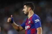 Kolejna dobra passa strzelecka Luisa Suáreza w Barcelonie