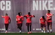 Barça przygotowuje się do meczu ze Slavią Pragą w Ciutat Esportiva