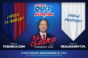 El Clásico w Quizie Pod Napięciem, czyli FCBarca.com vs realmadryt.pl