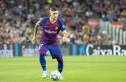 Carles Pérez trenował przez ostatnie dni z Barceloną B