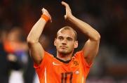 Wesley Sneijder: Gdybym w przeszłości dawał z siebie wszystko, grałbym na poziomie Leo Messiego