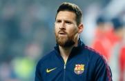 Jakie wyniki osiągała Barcelona w spotkaniach Ligi Mistrzów, w których nie wystąpił Leo Messi?