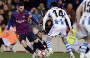 Lista zawodników Realu Sociedad powołanych na mecz z Barceloną