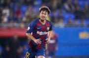 Hiroki Abe trafia dwa razy, Barça B wygrywa