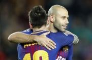 Javier Mascherano: Messi w lidze argentyńskiej? W futbolu wszystko jest możliwe