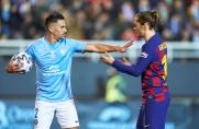 Antoine Griezmann uchronił Barcelonę od kompromitującego odpadnięcia z Pucharu Króla