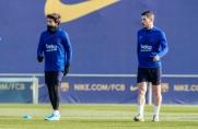 Barcelona rozpoczęła przygotowania do meczu z Valencią