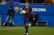 Wygrana rezerw Barcelony, debiut Reya Manaja