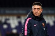 García Pimienta: Chciałbym, aby Collado, Jandro, Riqui i Monchu wywalczyli stałe miejsce w pierwszej drużynie Barçy
