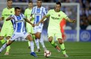 Leganés zawsze zdobywa bramki w spotkaniach rozgrywanych na Camp Nou