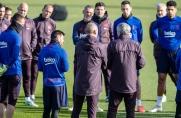 Piłkarze Barcelony wrócili do pracy w Ciutat Esportiva i spotkali się z prezydentem Bartomeu [Aktualizacja]