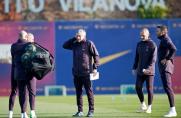 Barcelona kontynuuje przygotowania do meczu z Eibarem