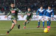 Napoli wygrywa z Brescią tuż przed starciem z Barceloną w Lidze Mistrzów