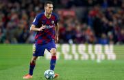 Dwóch piłkarzy Barcelony zagrożonych absencją w rewanżowym meczu z Napoli