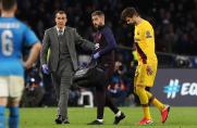 Gerard Piqué nie wziął udziału w dzisiejszym treningu Barcelony
