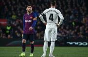 W niedzielnym El Clásico dojdzie do 41. pojedynku Leo Messiego i Sergio Ramosa