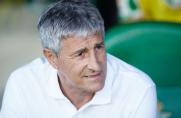 Quique Setién: Jadę na Bernabéu po to, żeby się cieszyć