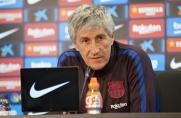 AS: Quique Setien traci rywali, którzy mogliby zająć jego miejsce na ławce trenerskiej Barcelony