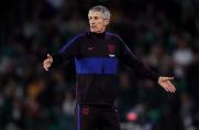 Sport: UEFA może zawiesić Quique Setiena na jeden mecz