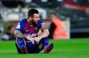 TV3: Leo Messi nie trenował dziś z drużyną z powodu dolegliwości mięśniowych