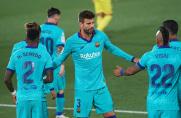 Gerard Piqué: Mój gest po anulowaniu gola? Nie wiem, o czym mówisz