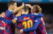 Tridente Messi-Suárez-Griezmann wreszcie zaczęło funkcjonować