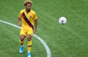 Konrad de la Fuente: Lubię oglądać piłkarzy pierwszego zespołu, żeby zobaczyć, jak mogę się poprawić