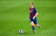 Media: De Jong poczynił znaczne postępy w meczu z Napoli