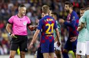 Damir Skomina sędzią meczu Barcelony z Bayernem