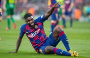 AS: Samuel Umtiti wróciłna boisko treningowe po 85 dniach przerwy
