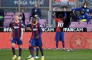 Barcelona rozbiła Osasunę, hołd Leo dla Maradony