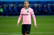 Martin Braithwaite: Dembélé miał ochotę wykonać rzut karny, dlatego oddałem mu piłkę