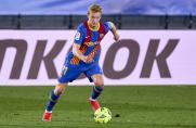 Frenkie de Jong: Kiedy gram, nie myślę, że mogę stracić piłkę