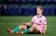 Frenkie de Jong nie zagra w meczu z Celtą